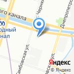Петрокузов на карте Санкт-Петербурга