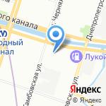 АРМАсервис на карте Санкт-Петербурга