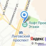 Pallet на карте Санкт-Петербурга