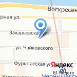 МРССиСТ на карте Санкт-Петербурга