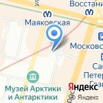 Кольцевая автомобильная дорога-Ленобласть на карте Санкт-Петербурга