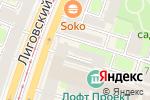 Схема проезда до компании Центр бытовых и фотоуслуг в Санкт-Петербурге
