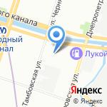 Zolotinka на карте Санкт-Петербурга