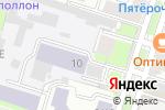 Схема проезда до компании ЕВРОМАСТЕР в Санкт-Петербурге