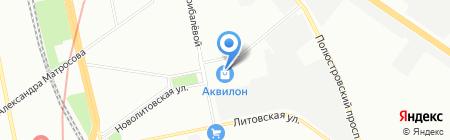 ЭКВИНН на карте Санкт-Петербурга