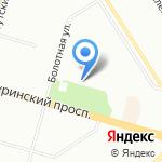 Аленушка на карте Санкт-Петербурга