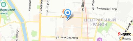 М-Стерео на карте Санкт-Петербурга