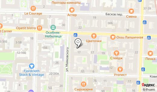 М-Стерео. Схема проезда в Санкт-Петербурге