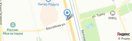 Рефкомпонент на карте Санкт-Петербурга
