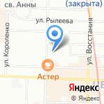 Вправе на карте Санкт-Петербурга