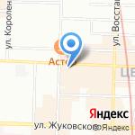 Алинда на карте Санкт-Петербурга