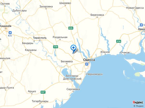 село Новодмитриевка Вторая на карте