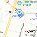 Известия на карте Санкт-Петербурга