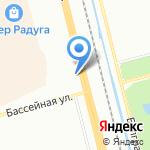 ActiveFisher на карте Санкт-Петербурга