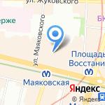 Колизей на карте Санкт-Петербурга
