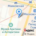 Союз СПб на карте Санкт-Петербурга