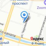 НЭК-СПб на карте Санкт-Петербурга