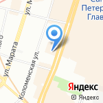 Амбифон на карте Санкт-Петербурга