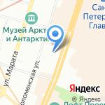 Лота на карте Санкт-Петербурга