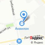 Аквилон на карте Санкт-Петербурга