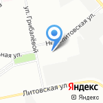 Инсайд ТВ на карте Санкт-Петербурга