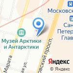Семицветик на карте Санкт-Петербурга