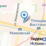 Арт Этаж на карте Санкт-Петербурга