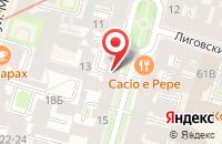 Схема проезда до компании Инфомедиасервис в Санкт-Петербурге