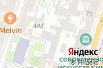Схема проезда до компании Экофлон в Санкт-Петербурге