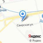 Стильный тандем на карте Санкт-Петербурга