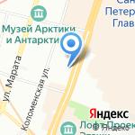 Vinylbox на карте Санкт-Петербурга