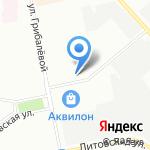11-й СтройТрест на карте Санкт-Петербурга