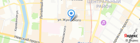 Brixton на карте Санкт-Петербурга