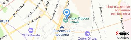 С Нами Удобно на карте Санкт-Петербурга