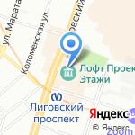 Tamaris на карте Санкт-Петербурга