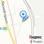 Следственный изолятор №4 на карте Санкт-Петербурга