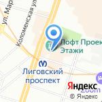 МедПроф на карте Санкт-Петербурга