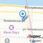 Центр финансового обеспечения на карте Санкт-Петербурга