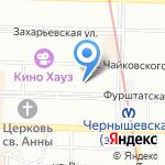 Правовое сопровождение на карте Санкт-Петербурга