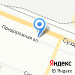 Бодрые Колеса на карте Санкт-Петербурга