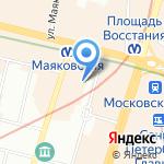 Мастерская оратора на карте Санкт-Петербурга