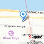 Эмми на карте Санкт-Петербурга