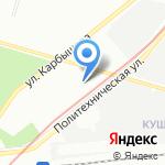 City dec на карте Санкт-Петербурга