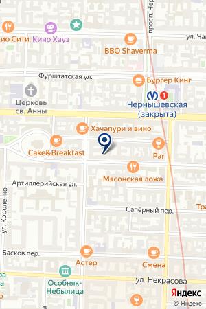 ТВОРЧЕСКАЯ МАСТЕРСКАЯ БОН ИРИНА на карте Санкт-Петербурга