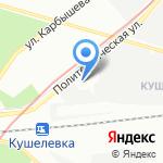 Промводснаб на карте Санкт-Петербурга