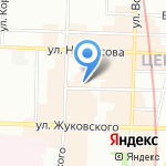 City Slam на карте Санкт-Петербурга