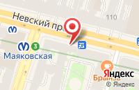 Схема проезда до компании Спасатель в Санкт-Петербурге