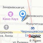 Аштанга на карте Санкт-Петербурга