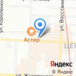 Весь Мир на карте Санкт-Петербурга