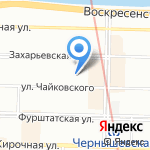 Aerotravel на карте Санкт-Петербурга